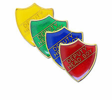 Deputy Head Boy Shield School Enamel Badge