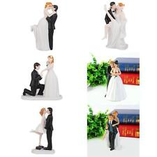 Newly Romantic Figurine Bride Groom Wedding Cake Toppers Marriage Gifts Topper