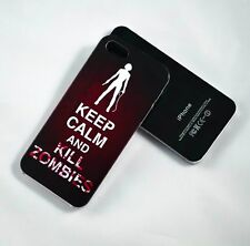 WALKING DEAD KEEP CALM KILL ZOMBIES PHONE CASE COVER IPHONE AND SAMSUNG MODELS
