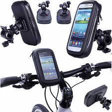 360° Waterproof Bike Mount Holder Case Bicycle Cover for Various Mobile Phones