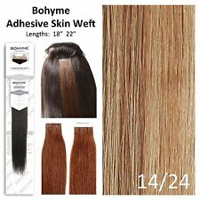 Bohyme Tape-In Skin Weft 100% Remi Human Hair Extensions Color 14/24