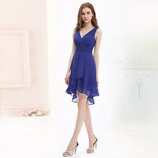 Ever Pretty Short  Sexy V-neck Prom Bridesmaid Cocktail Dress 03644 US Seller