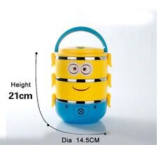 Cartoon Stainless Steel Bento Box Food Container Thermal Insulation Lunch Box