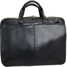 Netpack Leather Laptop Business case 2 Colors Non-Wheeled Business Case NEW