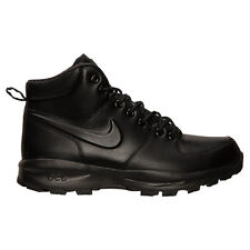 NIKE ACG MANOA LEATHER BOOTS BOOT BLACK  SZ 8-13  * 454350-003 *