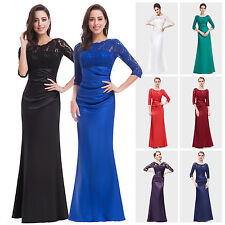 Ever Pretty Women's Satin Long Prom Cocktail Evening Gown Dress US Seller 09882