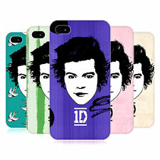 OFFICIAL ONE DIRECTION 1D GRAPHIC FACES HARRY HARD BACK CASE FOR APPLE iPHONE 4