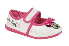 FREE P&P : Girls Minnie Mouse Disney Glitter Slippers 9/10/11/12 birthday pink