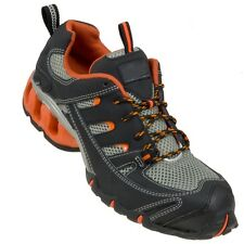 MENS WOMENS SAFETY TRAINERS SHOES BOOTS WORK STEEL TOE CAP SIZE 7-12UK NEW