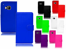 Magnetic Side Wallet Flip Book Holder Leather Pu Case Cover For HTC ONE M8S UK