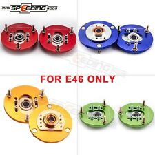For BMW 3 Series E46 98-02 Front Coilover Camber Plate Adjustable Upper Mount