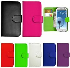 Book Flip Wallet Leather Case Cover For Various Samsung Galaxy Model