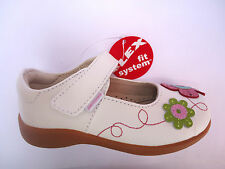 """NEW PEDIPED """"SADIE"""" FLEX LEATHER WHITE/FLOWERS SHOES. RRP £39.00"""