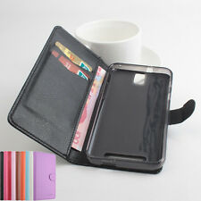 "Leather Case Cover Skin For 5.5"" ZOPO ZP999 Smartphone Multi-Color Folio"