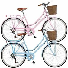 Viking Belgravia Ladies' Traditional Commuter Heritage Bike with Front Basket