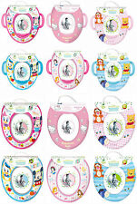 Kids Disney & Character Padded Potty Toilet Training Seats - Choice of 6 Designs