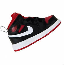 NIKE Toddler (TD) JORDAN 1 MID Black gym Red White 640735 020