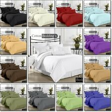 Fitted Sheet & Flat Sheet Set Collection in 800 TC US Size 100% Egyptian Cotton