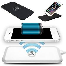 QI Wireless Charger Charging Pad & Receiver For Apple iPhone 5 5S 5C 6 6 Plus