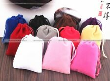 Necklace Bag Velvet Jewellery Drawstring Gift Bag Pouches Jewelry Bags x10