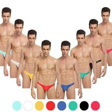 Sexy Man Underwear Bikini G-String Cotton Blend Solid Thong Size M L XL