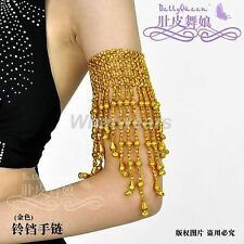 Belly Dance 1 Pair Armband Bell Arm Bracelet S31 LJN