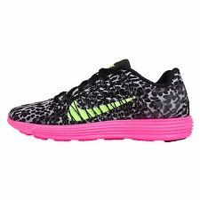 Wmns Nike Lunaracer 3 Leopard Grey Black Pink Womens Running Shoes 554683-036