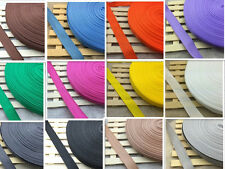 New DIY 10Yards Length 1 Inch (25mm) Width Nylon Webbing Strapping pick 18 color