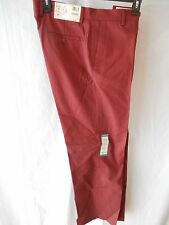 Haggar 30 Rust 100% Cotton Twill Dress FLat-Front Dress Pants SR $80 NEW