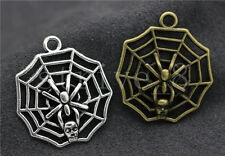 Lot 5/20/100pcs Tibet Silver Cobweb Jewelry Finding Charms pendant DIY 30x27mm
