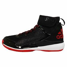 Adidas Crazy Ghost 2015 Black Red Mens Basketball Shoes Sneakers D69548