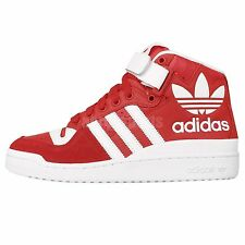 Adidas Originals Forum Mid RS XL Red White Leather 2015 Mens Casual Shoes B26151