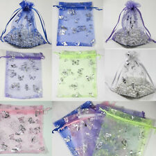 New Stylish Butterfly Organza Packing Pouch Wedding Party Favor Gift Bag DIY