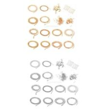 Jewelry Necklace Bracelet Making Starter Kit Chains Clasp Rings Extender Chains