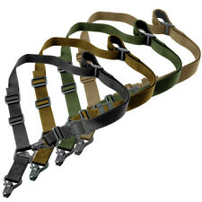 Hunting Tactical MS3 Style 1/2 Point Multi Mission QD Universal Rifl Sling Strap