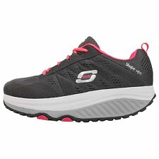 Skechers Shape-Ups 2.0 II Grey Pink Womens Running Shoes Sneakers 57000CCCL