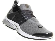 Nike Air Presto QS Tumbled Grey Black Tech Fleece Pack Mens Trainers 812307 002