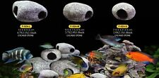 Cichlid Stones Aquarium Ceramic Ornament Rock Cave Breeding Decoration for Fish