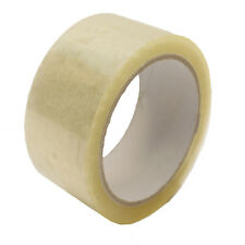 ECONOMY CLEAR PACKAGING PACKING PARCEL TAPE 50MM X 66M - SELECT QUANTITY
