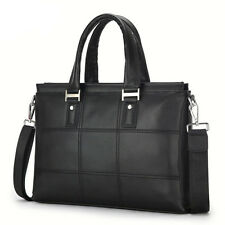 Men's Leather Messenger Shoulder Bag Business Handbag Laptop Bag Briefcase New