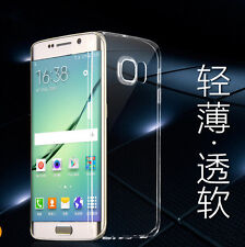 Ultra Thin TPU Soft Silicone Gel Cover Rubber Case For Samsung S6 S6 Edge