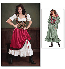 Butterick Costume Misses/Misses Petite Sewing Pattern 3906 Gypsy/Wench