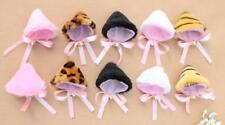1Pair Beauty Cosplay Party Cat Fox Ears Anime Hair Clip Orecchiette With bells
