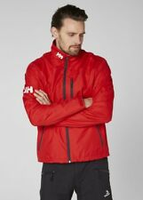Helly Hansen Crew Midlayer Fleece Lined Waterproof Jacket 30253/162 Red NEW