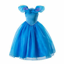 Girls Cinderella Dress Butterfly Party Halloween Cosplay Princess Costume 3-9Y