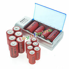 8x C size 10000mAh + 8x D size 13000mAh 1.2V Ni-MH rechargeable battery+ Charger