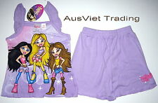 BNWT Bratz top t-shirt tshirt girls Pyjamas 100% cotton brand new