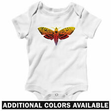 Deaths Head Hawkmoth One Piece - Butterfly Baby Infant Creeper Romper NB-24M