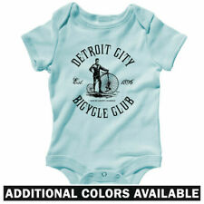Detroit Bicycle Club One Piece - Cycling Bike Baby Infant Creeper Romper NB-24M