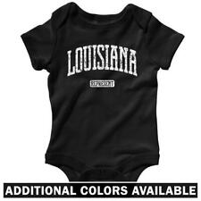 Louisiana Represent One Piece - LSU Tigers LA Baby Infant Creeper Romper NB-24M